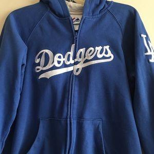 Dodgers Zip Up Hoodie
